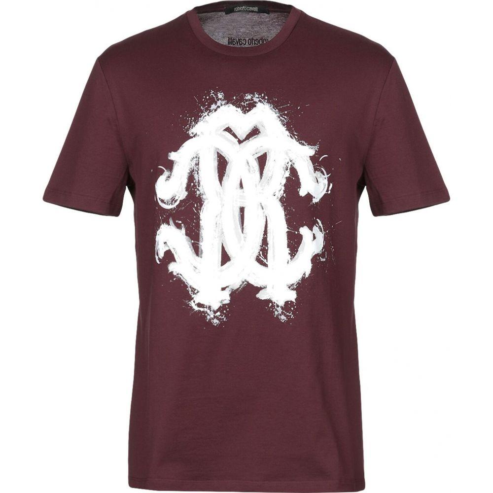 ロベルト カヴァリ ROBERTO CAVALLI メンズ Tシャツ トップス【t-shirt】Maroon