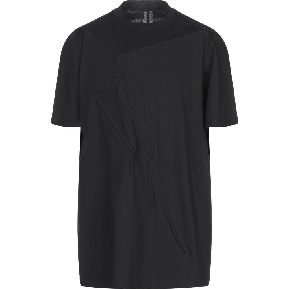リック オウエンス RICK OWENS メンズ Tシャツ トップス【t-shirt】Black