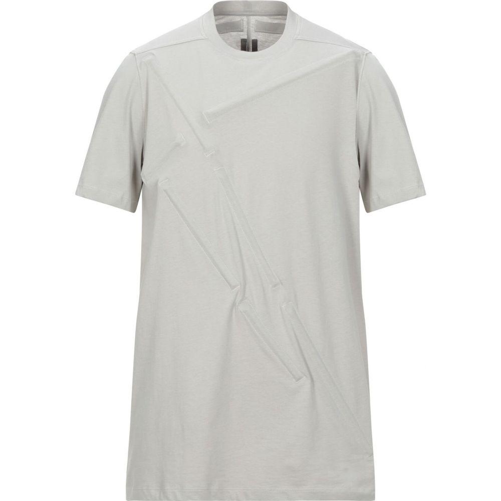 リック オウエンス RICK OWENS メンズ Tシャツ トップス【t-shirt】Light grey