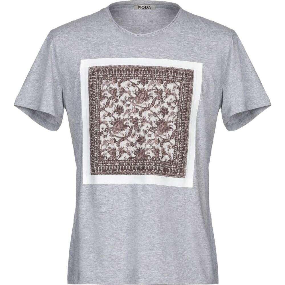 ロダ RODA メンズ Tシャツ トップス【t-shirt】Light grey