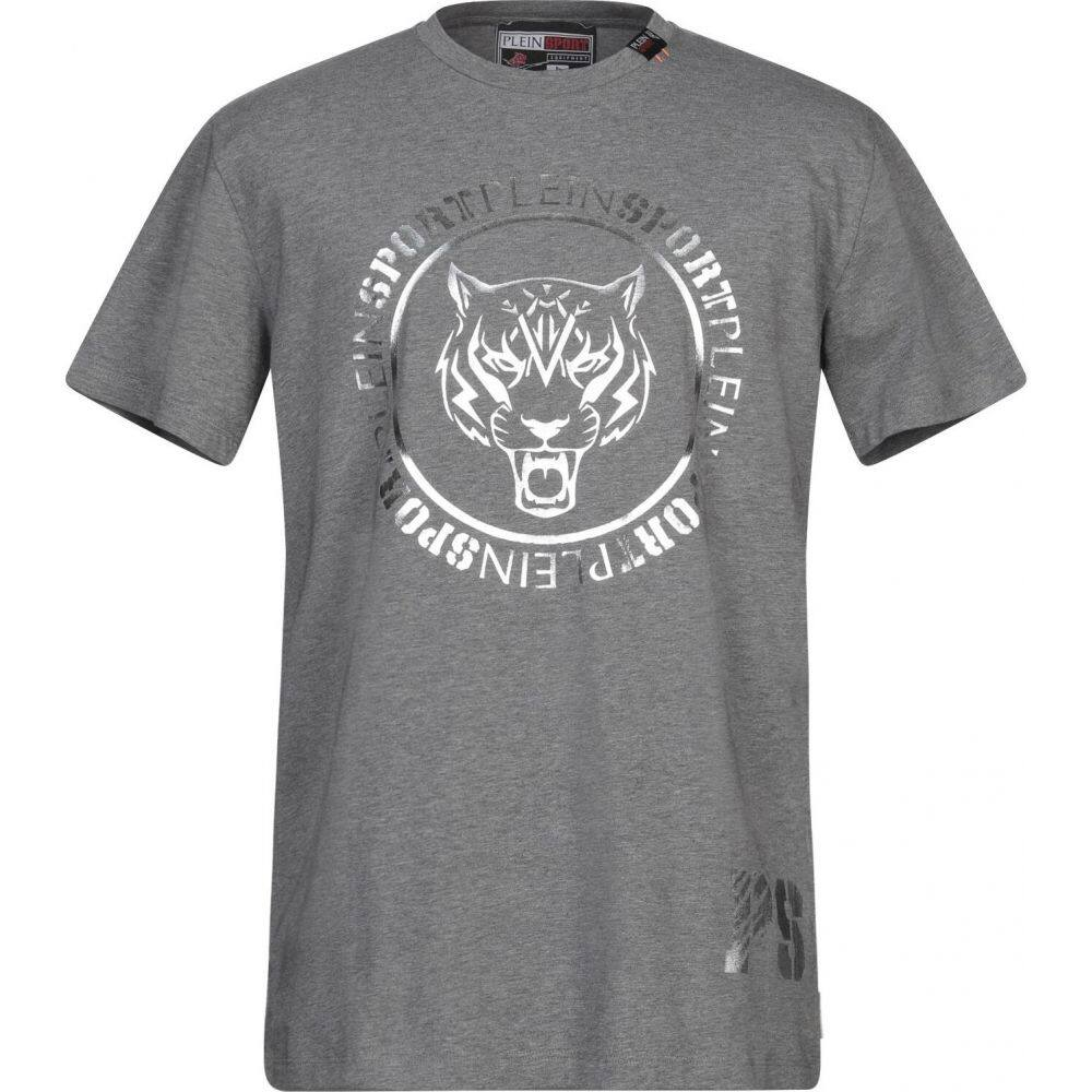 プレイン スポーツ PLEIN SPORT メンズ Tシャツ トップス【t-shirt】Grey