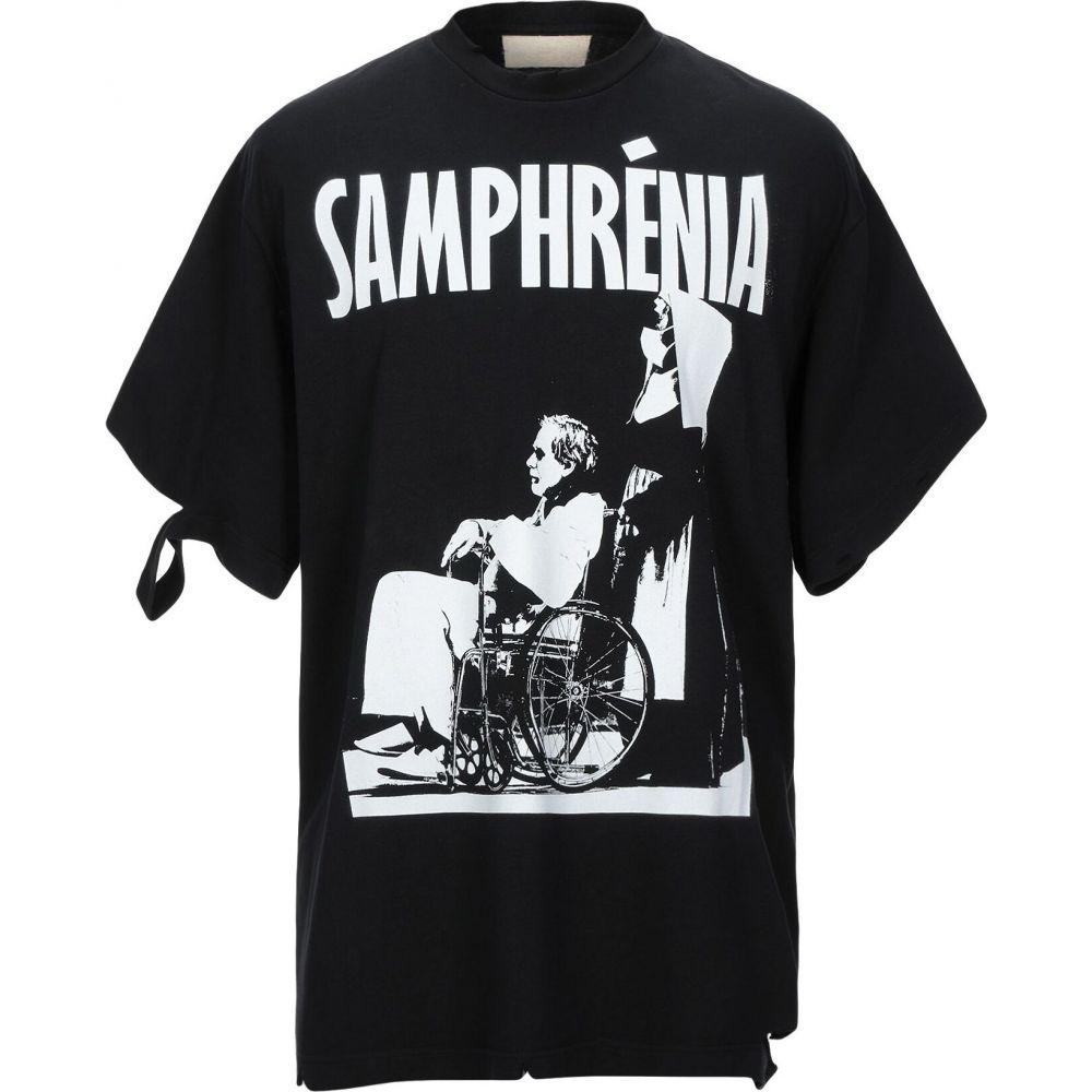 サジタール A SAGITTAIRE A メンズ Tシャツ トップス【t-shirt】Black