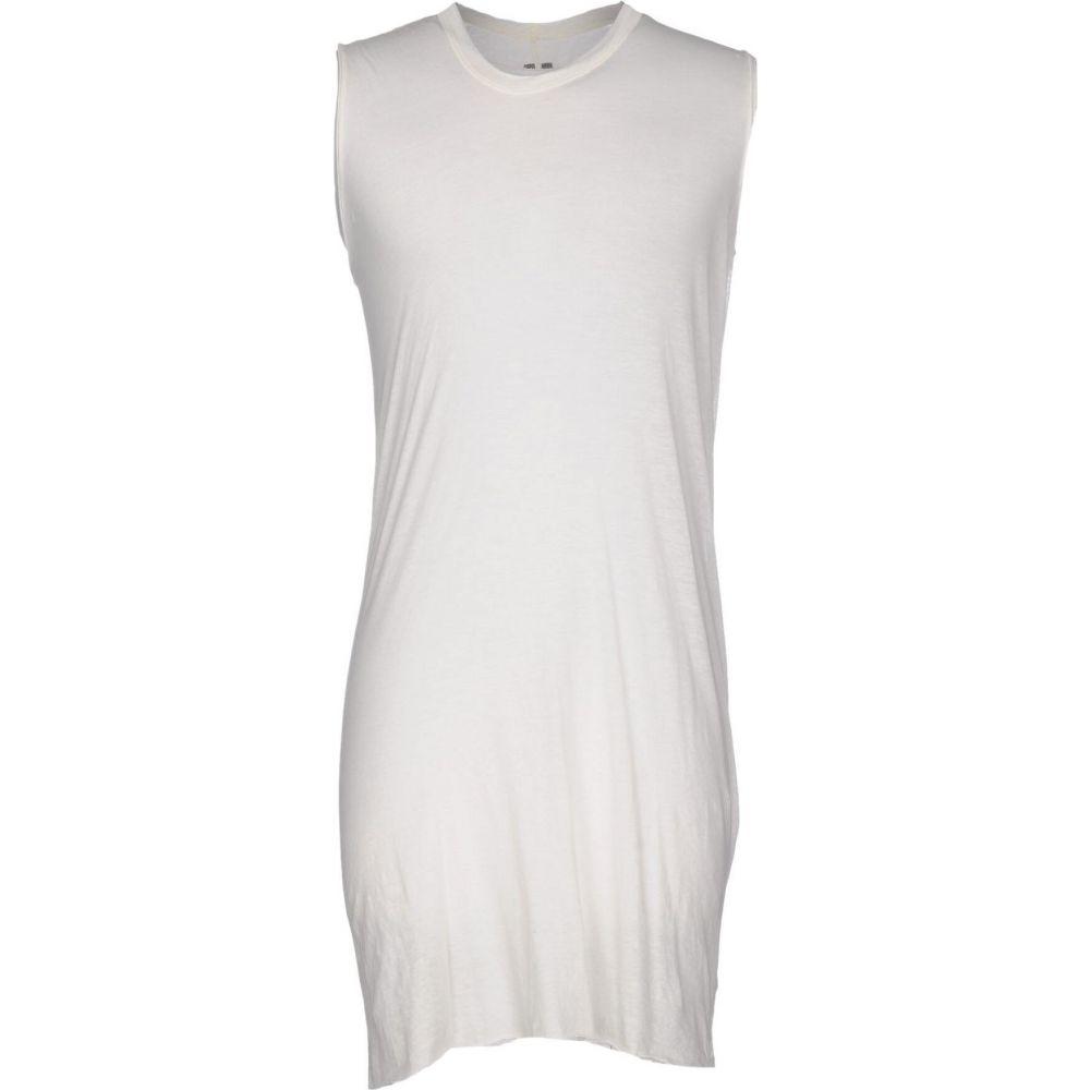 リック オウエンス RICK OWENS メンズ Tシャツ トップス【t-shirt】Ivory