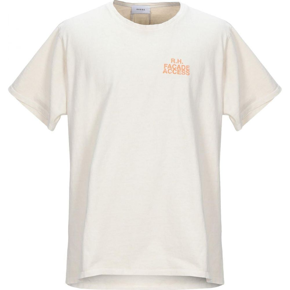 ルード RHUDE メンズ Tシャツ トップス【t-shirt】Beige