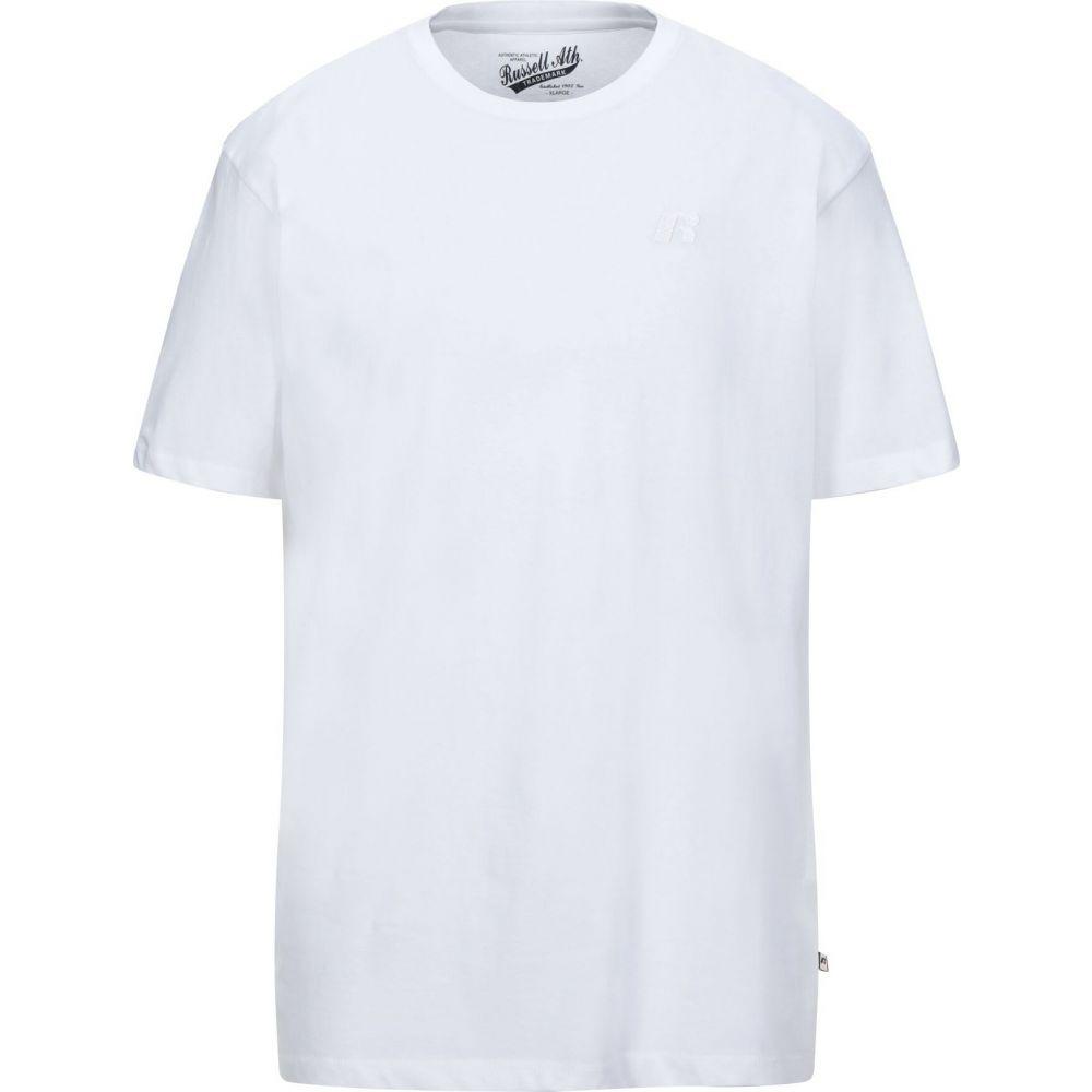 ルッセルオーセンティック RUSSELL ATHLETIC メンズ Tシャツ トップス【t-shirt】White