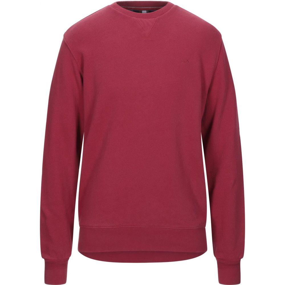 サン シックスティーエイト SUN 68 メンズ スウェット・トレーナー トップス【sweatshirt】Brick red