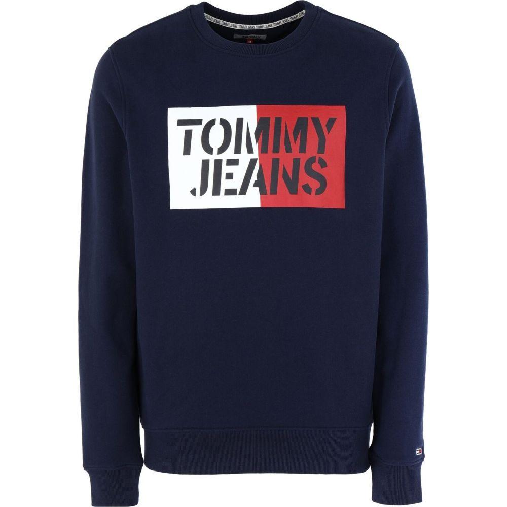 トミー ジーンズ TOMMY JEANS メンズ スウェット・トレーナー トップス【sweatshirt】Blue