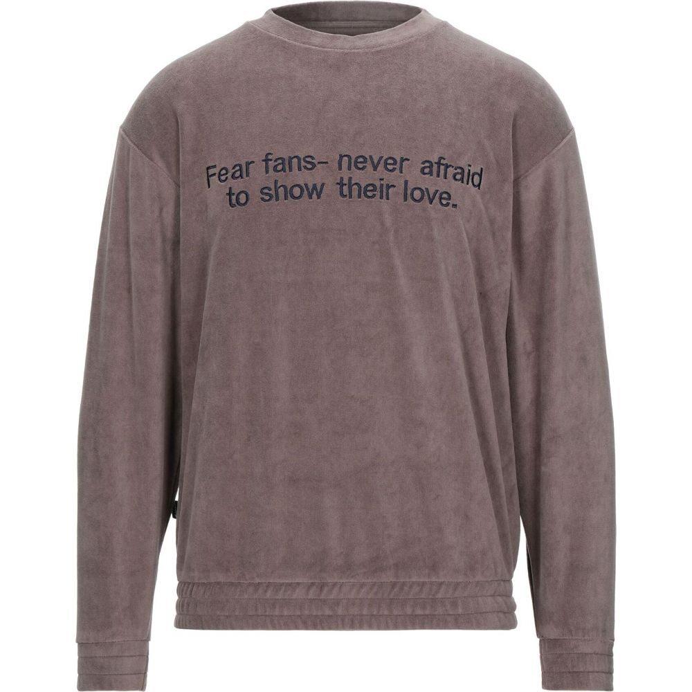 パウラ PAURA メンズ スウェット・トレーナー トップス【sweatshirt】Dove grey