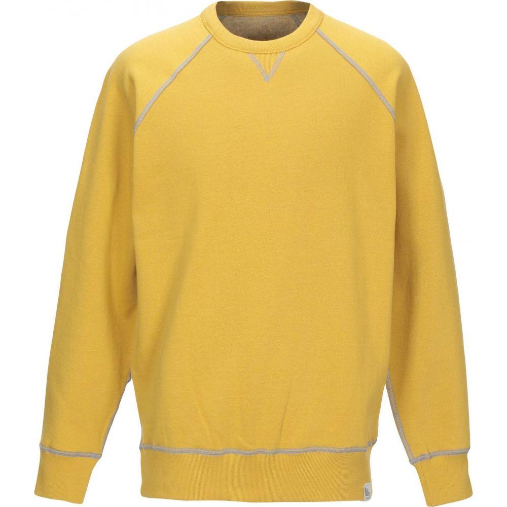 ロイロジャース ROY ROGER'S メンズ スウェット・トレーナー トップス【sweatshirt】Ocher