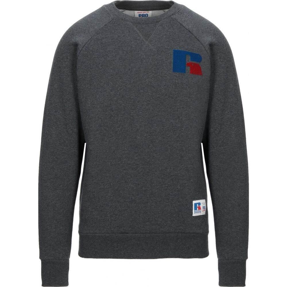 ルッセルオーセンティック RUSSELL ATHLETIC メンズ スウェット・トレーナー トップス【sweatshirt】Steel grey