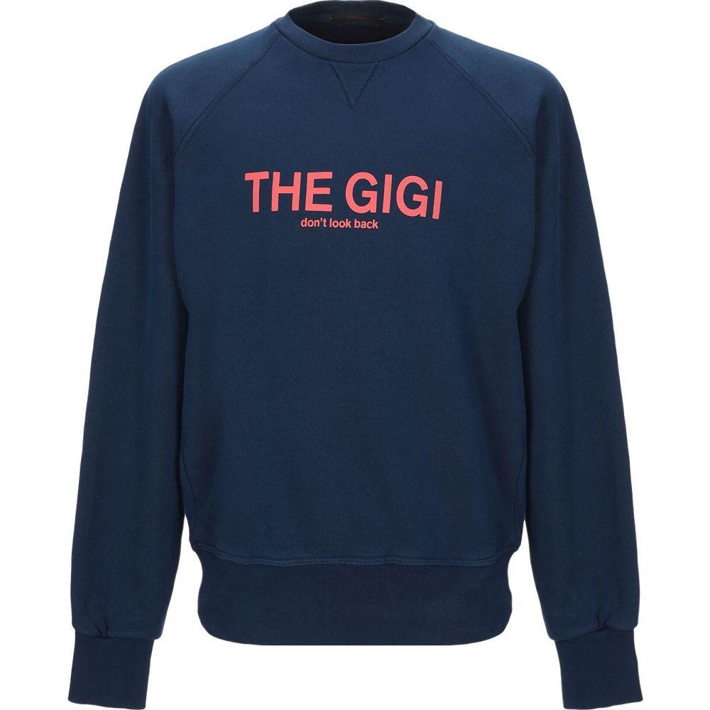 ザ ジジ THE GIGI メンズ スウェット・トレーナー トップス【sweatshirt】Dark blue