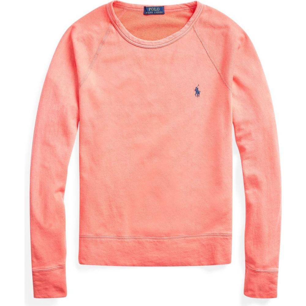 ラルフ ローレン POLO RALPH LAUREN メンズ スウェット・トレーナー トップス【cotton spa terry sweatshirt \】Salmon pink