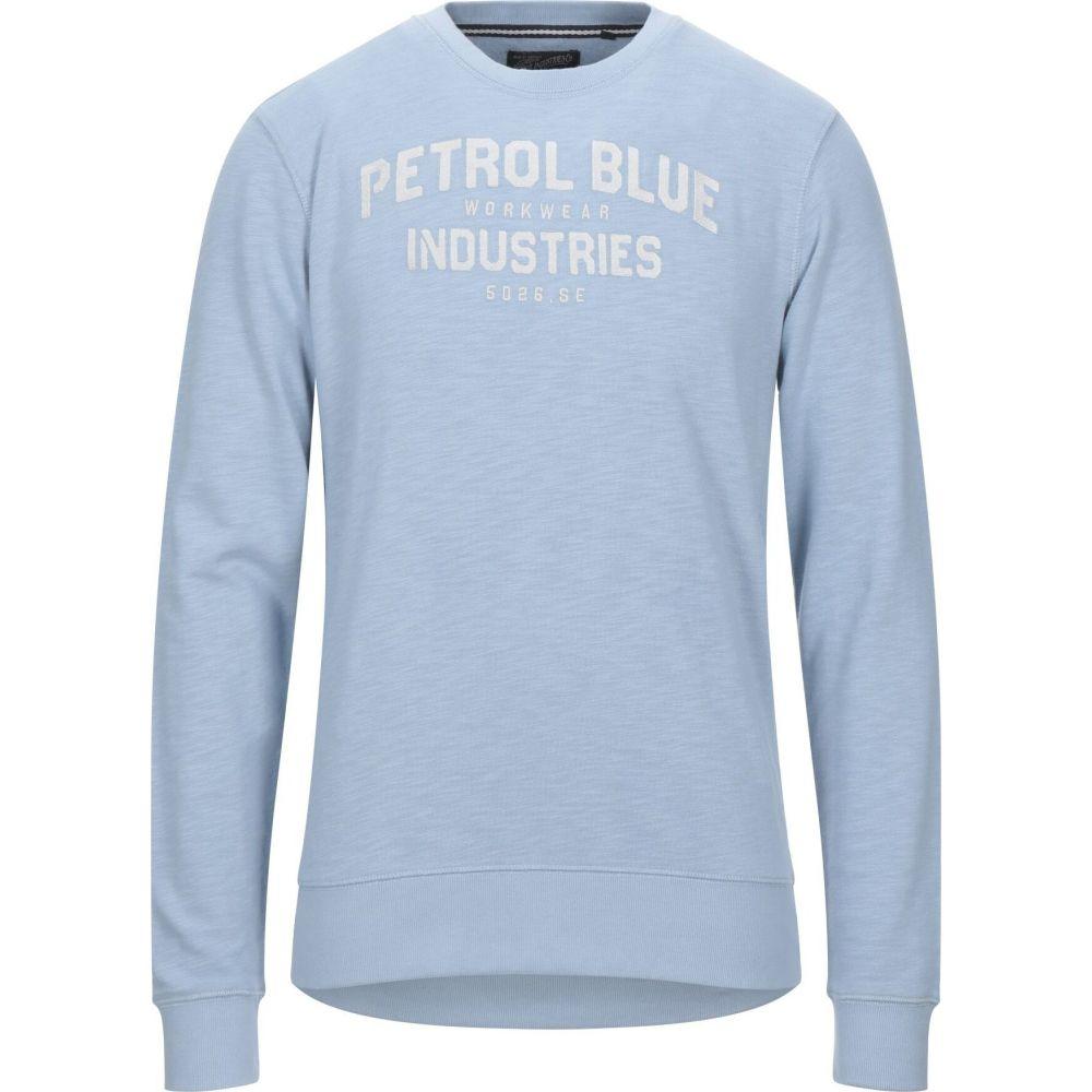 ペトロール インダストリーズ PETROL INDUSTRIES Co. メンズ スウェット・トレーナー トップス【sweatshirt】Sky blue