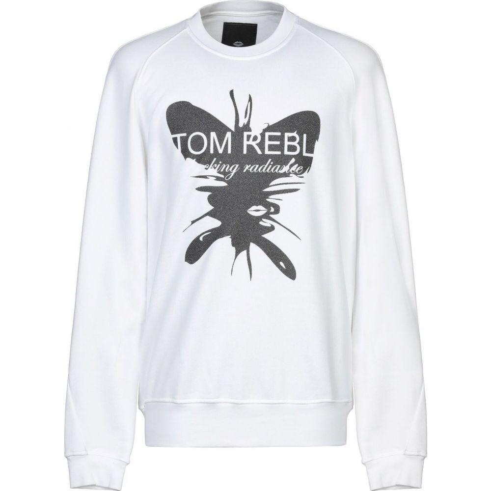 トム レベル TOM REBL メンズ スウェット・トレーナー トップス【sweatshirt】White