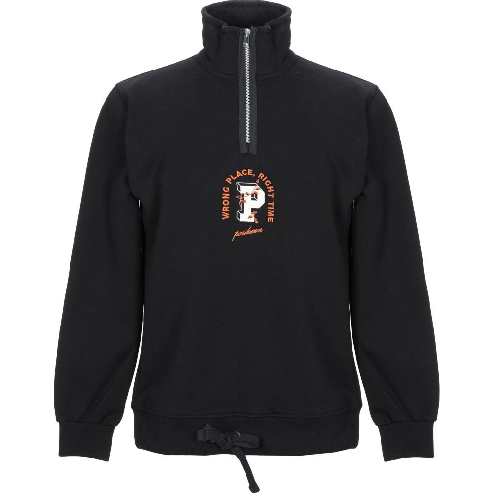 パデュメ PAS DE MER メンズ スウェット・トレーナー トップス【sweatshirt】Black