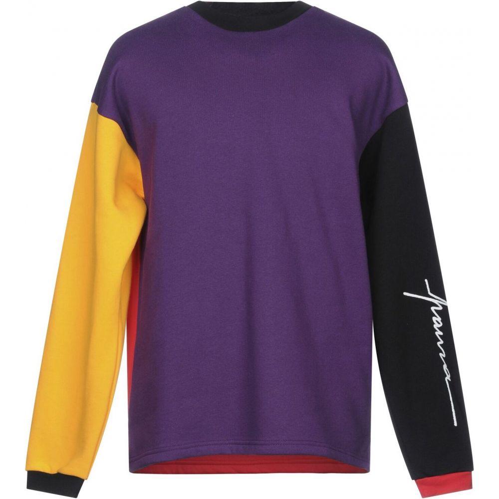 パウラ PAURA メンズ スウェット・トレーナー トップス【sweatshirt】Purple