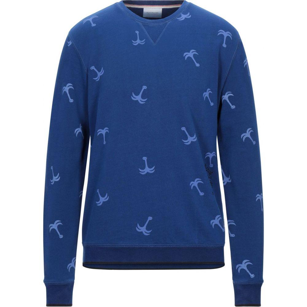 スコッチ&ソーダ SCOTCH & SODA メンズ スウェット・トレーナー トップス【sweatshirt】Blue