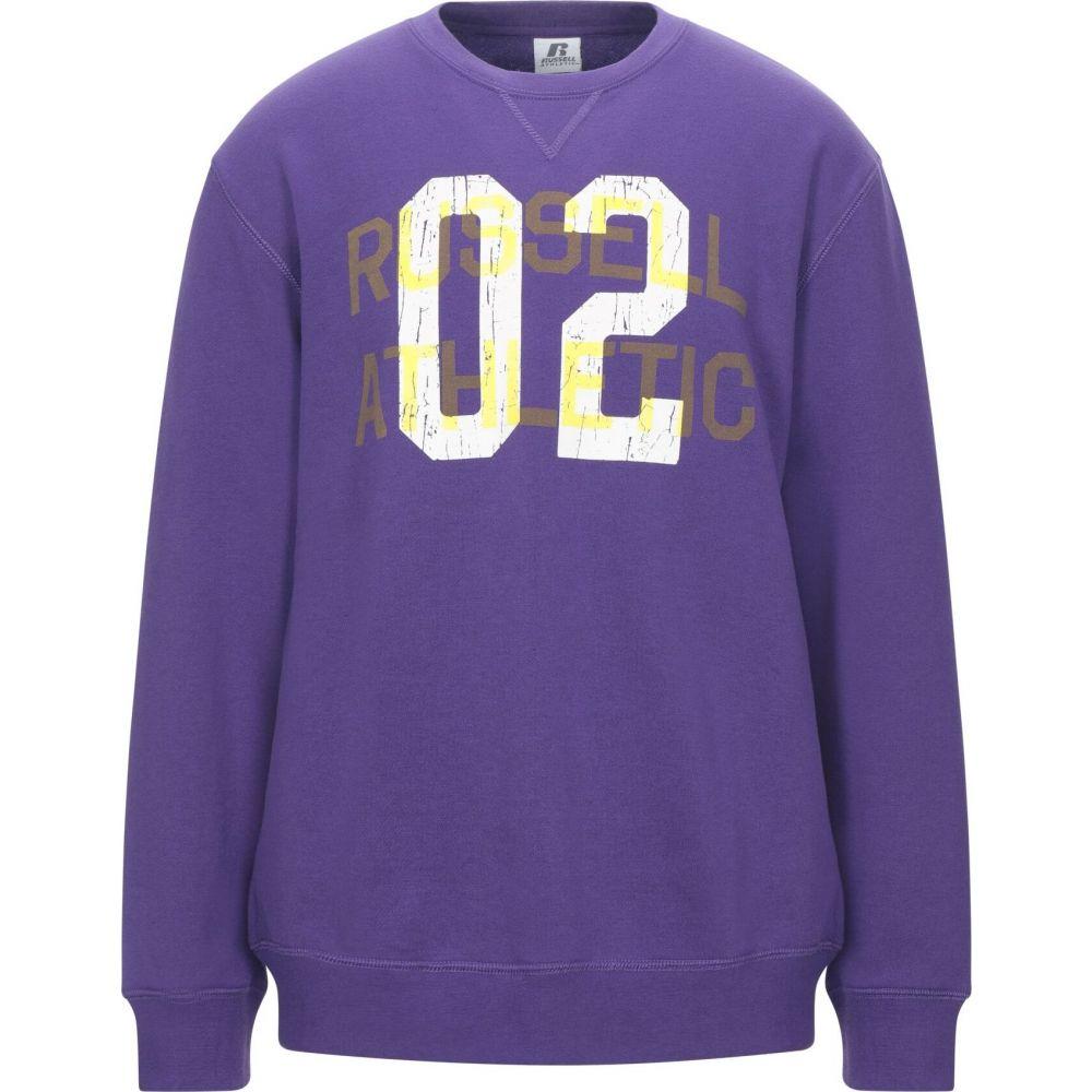 ルッセルオーセンティック RUSSELL ATHLETIC メンズ スウェット・トレーナー トップス【sweatshirt】Purple