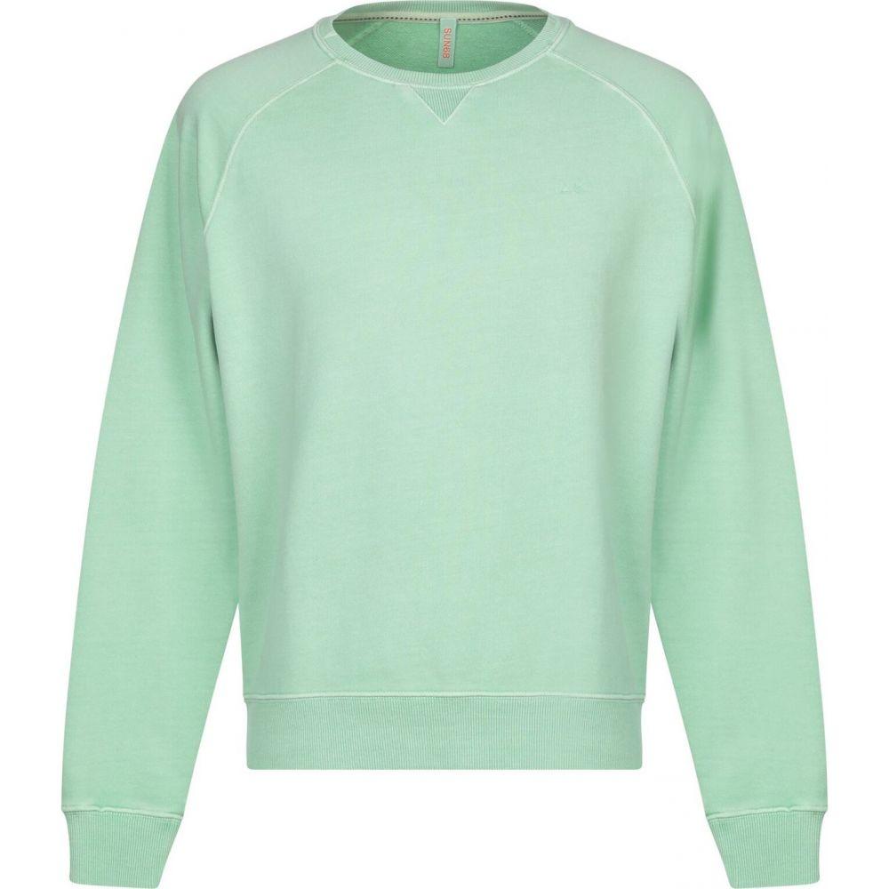 サン シックスティーエイト SUN 68 メンズ スウェット・トレーナー トップス【sweatshirt】Light green