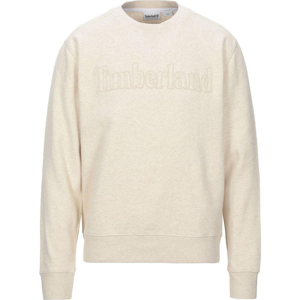 ティンバーランド TIMBERLAND メンズ スウェット・トレーナー トップス【sweatshirt】Ivory