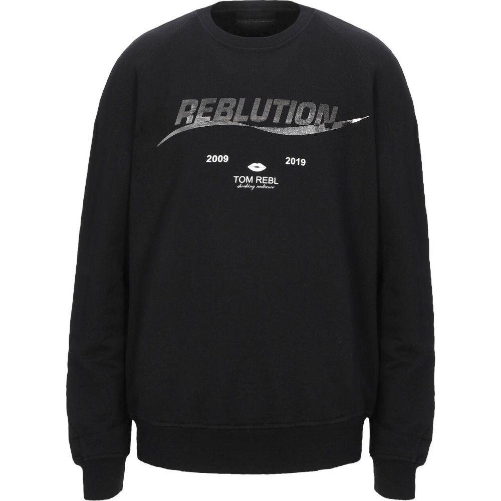 トム レベル TOM REBL メンズ スウェット・トレーナー トップス【sweatshirt】Black