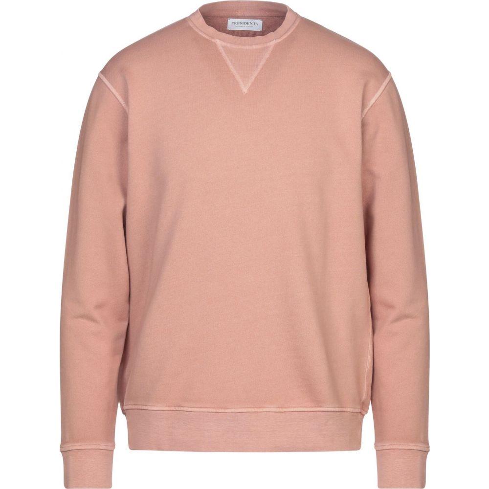 プレジデンツ PRESIDENT'S メンズ スウェット・トレーナー トップス【sweatshirt】Pastel pink