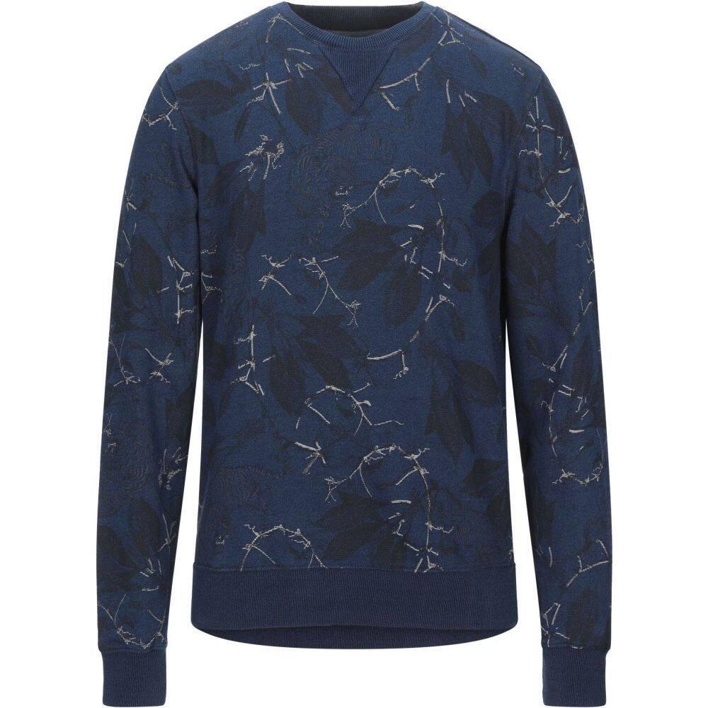 ペトロール インダストリーズ PETROL INDUSTRIES Co. メンズ スウェット・トレーナー トップス【sweatshirt】Blue