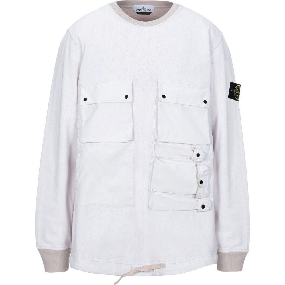 ストーンアイランド STONE ISLAND メンズ スウェット・トレーナー トップス【sweatshirt】Beige