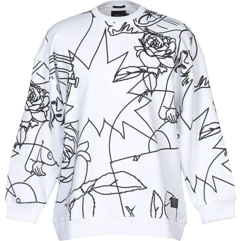 ペペジーンズ PEPE JEANS メンズ スウェット・トレーナー トップス【sweatshirt】White