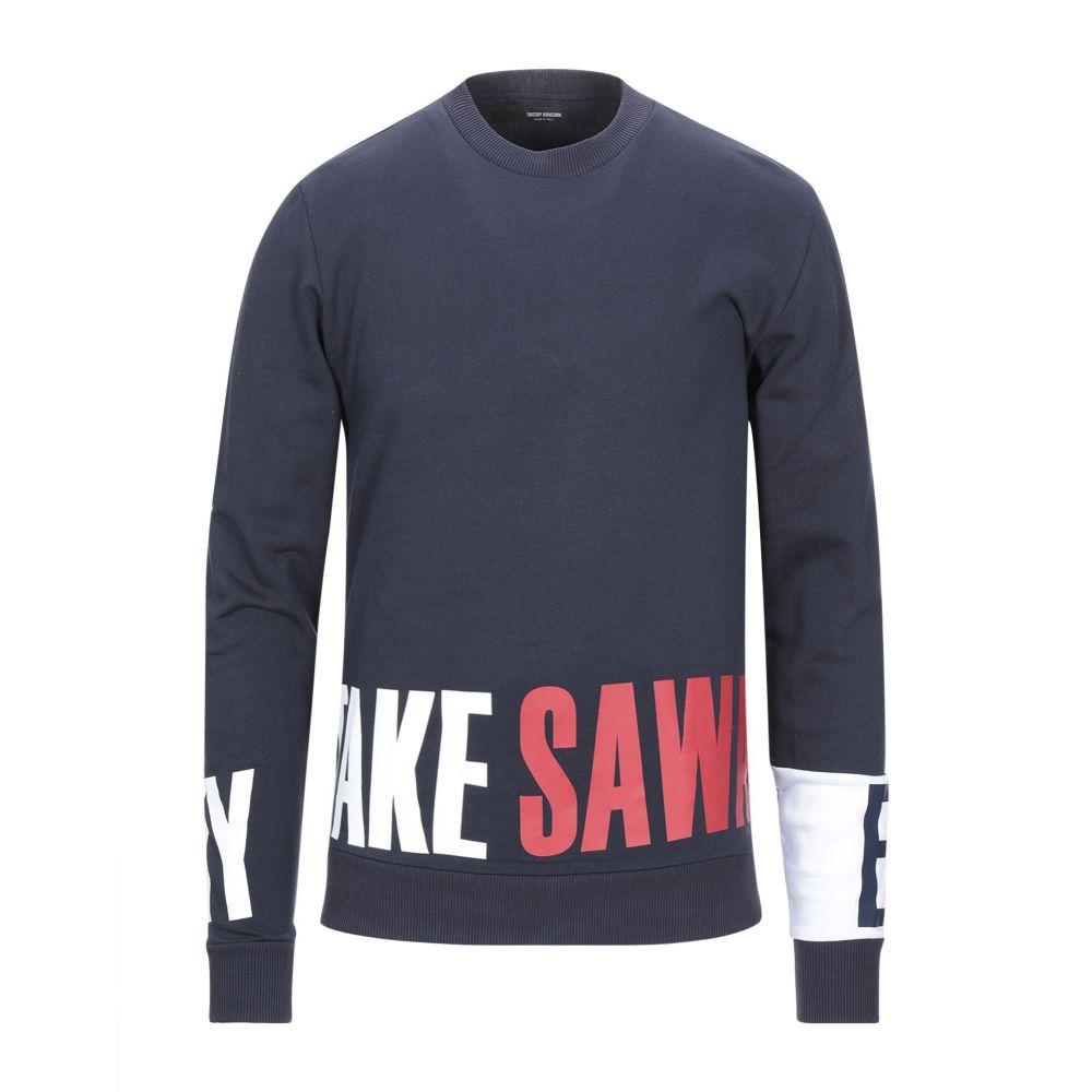 タケシ クロサワ TAKESHY KUROSAWA メンズ スウェット・トレーナー トップス【sweatshirt】Dark blue
