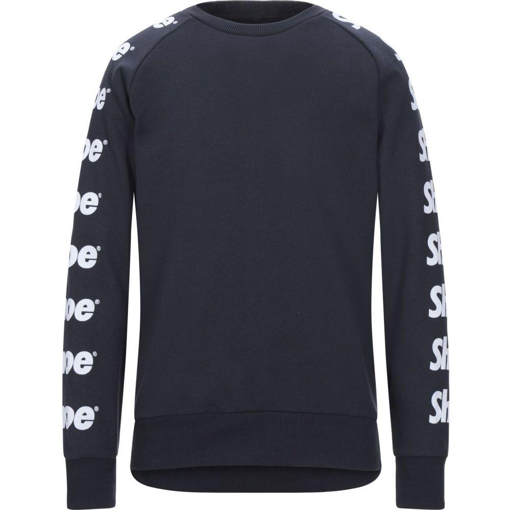 シューシャイン SHOESHINE メンズ スウェット・トレーナー トップス【sweatshirt】Dark blue