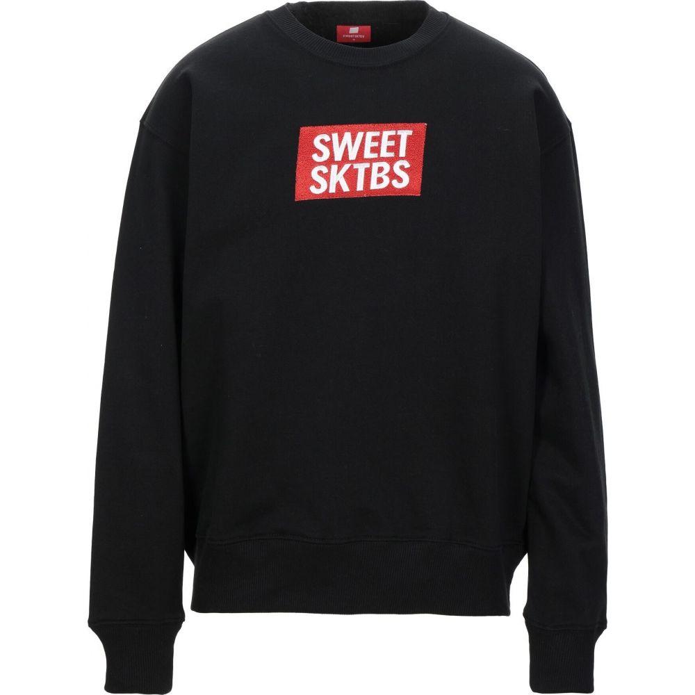 スウィート Sktbs SWEET SKTBS メンズ スウェット・トレーナー トップス【sweatshirt】Black