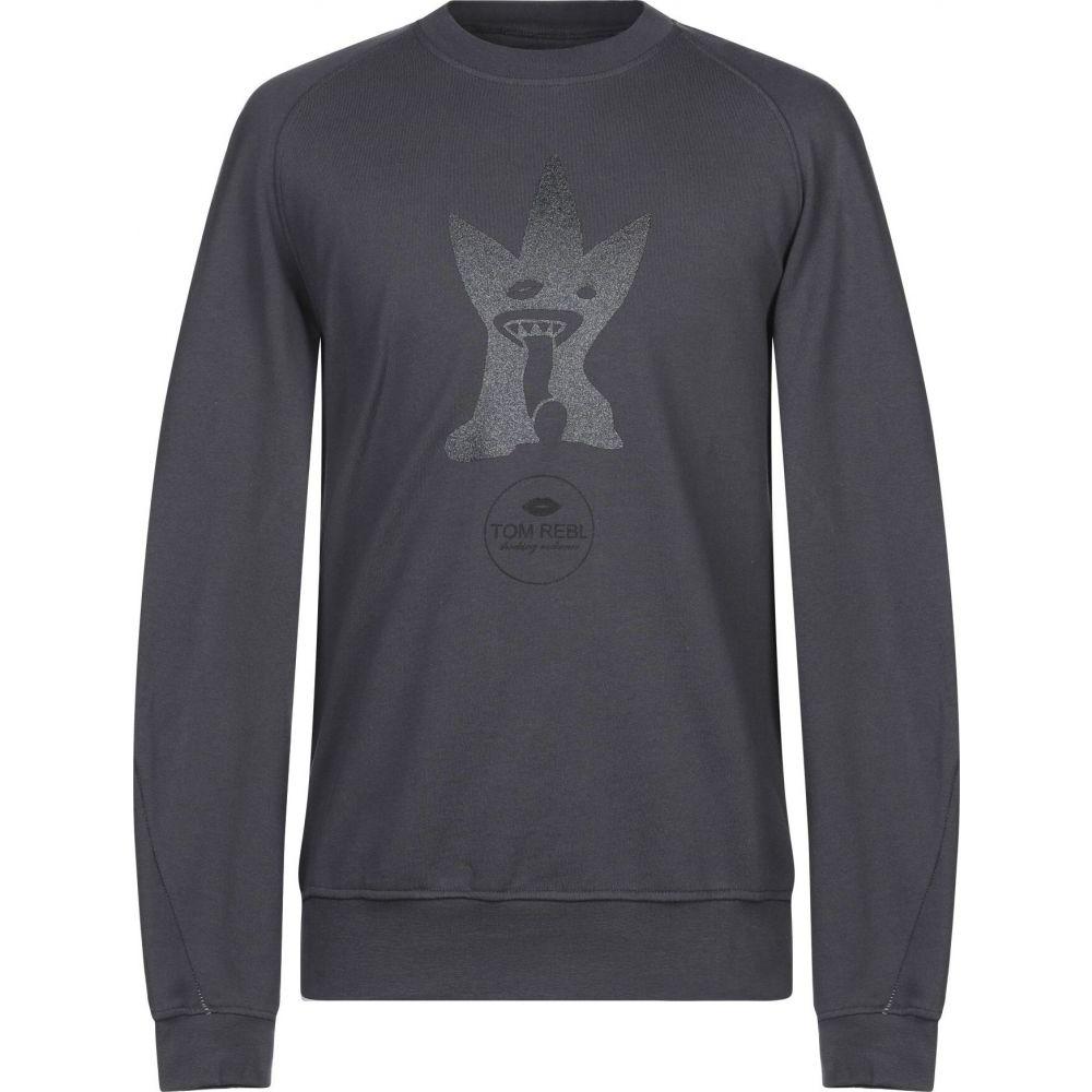 男女兼用 トム レベル メンズ トップス スウェット トレーナー sweatshirt REBL 全品送料無料 TOM Lead サイズ交換無料