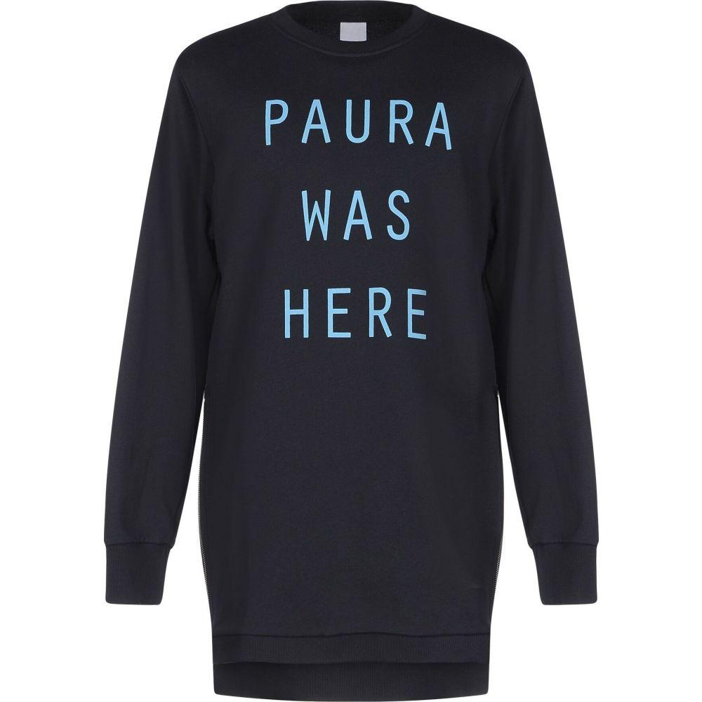 パウラ PAURA メンズ スウェット・トレーナー トップス【sweatshirt】Dark blue