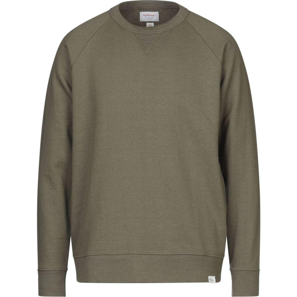 ロイロジャース ROY ROGER'S メンズ スウェット・トレーナー トップス【sweatshirt】Military green