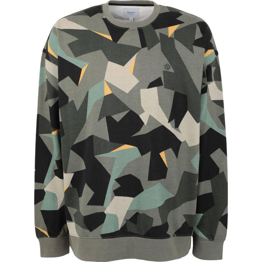 ペペジーンズ PEPE JEANS メンズ スウェット・トレーナー トップス【sweatshirt】Military green