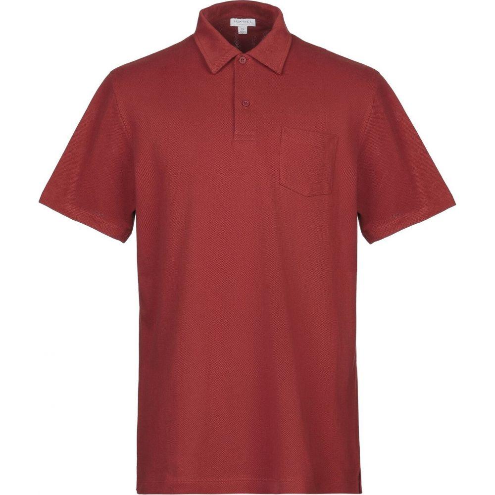 サンスペル SUNSPEL メンズ スウェット・トレーナー トップス【sweatshirt】Brick red