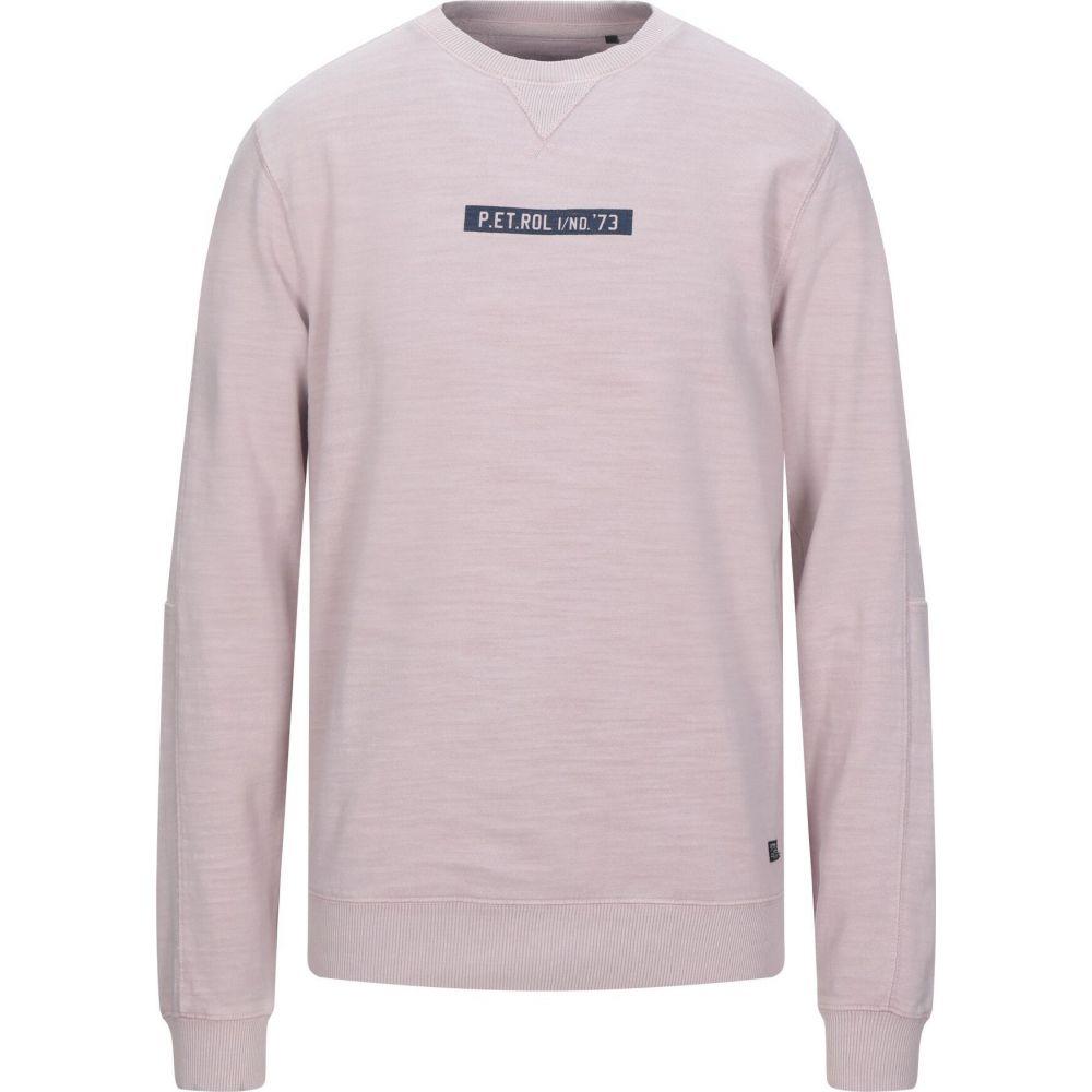 ペトロール インダストリーズ PETROL INDUSTRIES Co. メンズ スウェット・トレーナー トップス【sweatshirt】Light pink