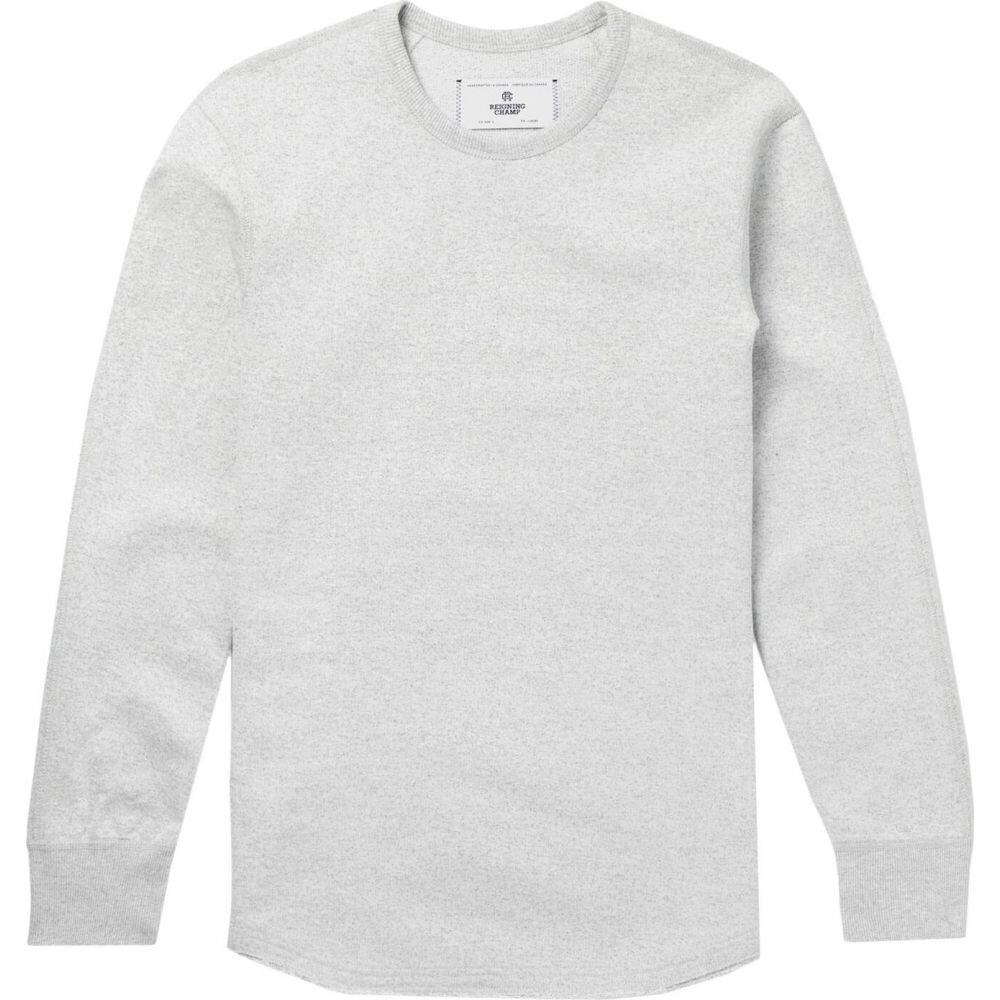 レイニングチャンプ REIGNING CHAMP メンズ スウェット・トレーナー トップス【sweatshirt】Light grey
