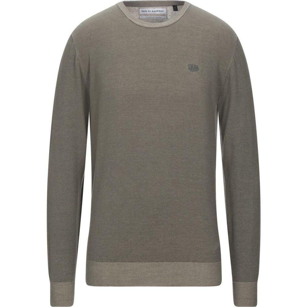 出色 デウス エクス 年中無休 マキナ メンズ トップス ニット セーター サイズ交換無料 sweater EX Military DEUS MACHINA green
