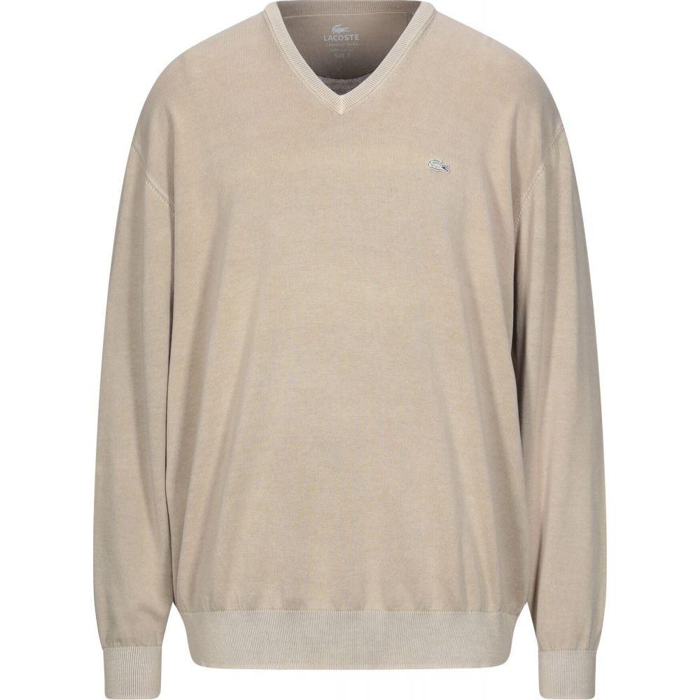 ☆新作入荷☆新品 ラコステ メンズ 宅送 トップス ニット セーター sweater Sand サイズ交換無料 LACOSTE