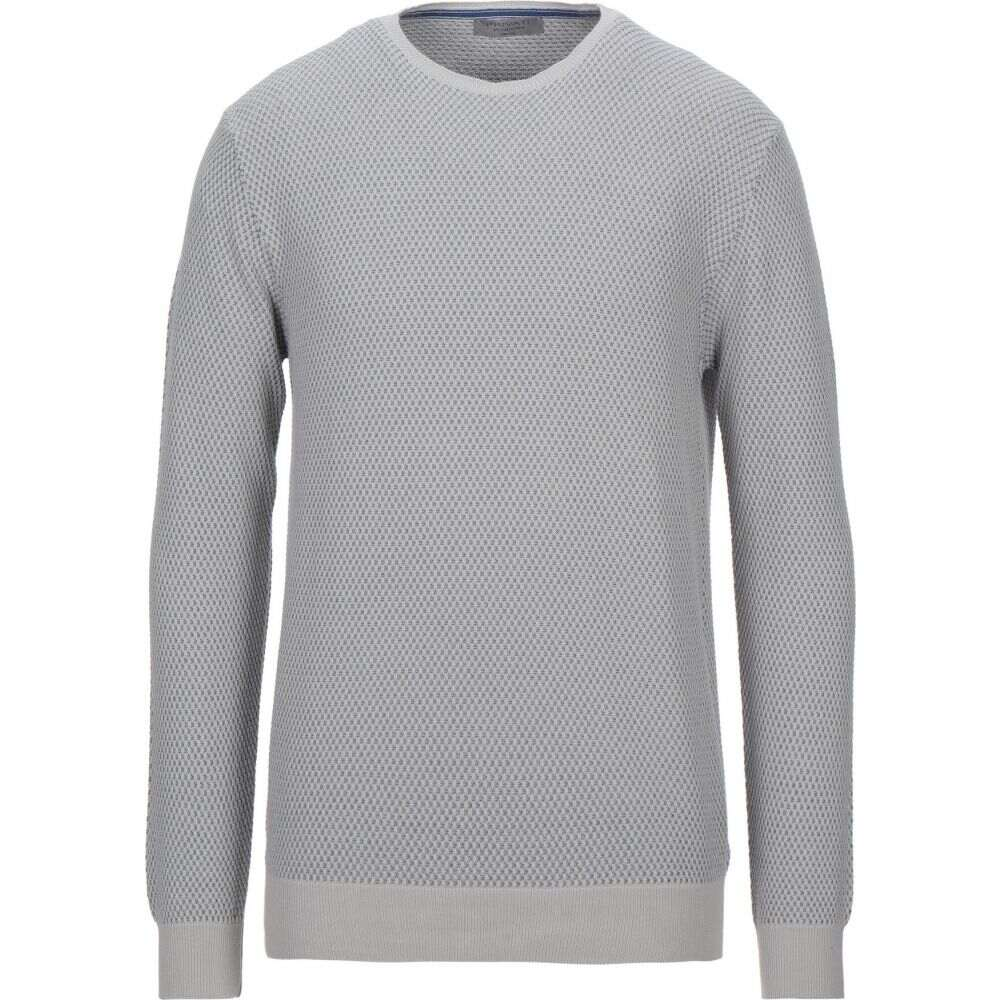 サービス プリヴァティ メンズ トップス 期間限定の激安セール ニット セーター grey Light sweater PRIVATI サイズ交換無料