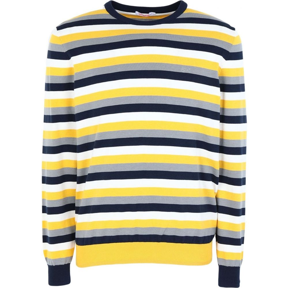※ラッピング ※ サン シックスティーエイト メンズ トップス 2020秋冬新作 ニット セーター Yellow 68 sweater サイズ交換無料 SUN