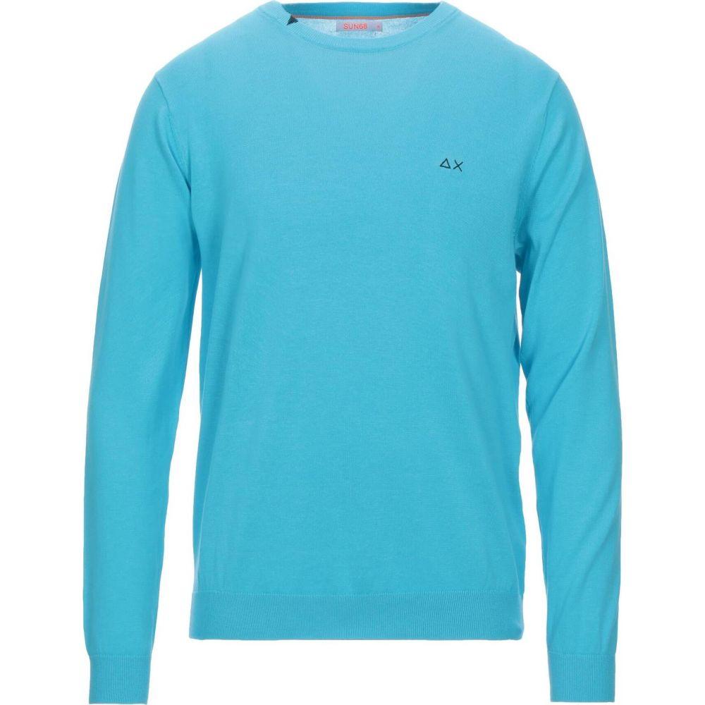 サン シックスティーエイト メンズ トップス ニット セーター サイズ交換無料 SUN sweater 68 物品 Azure SALE開催中