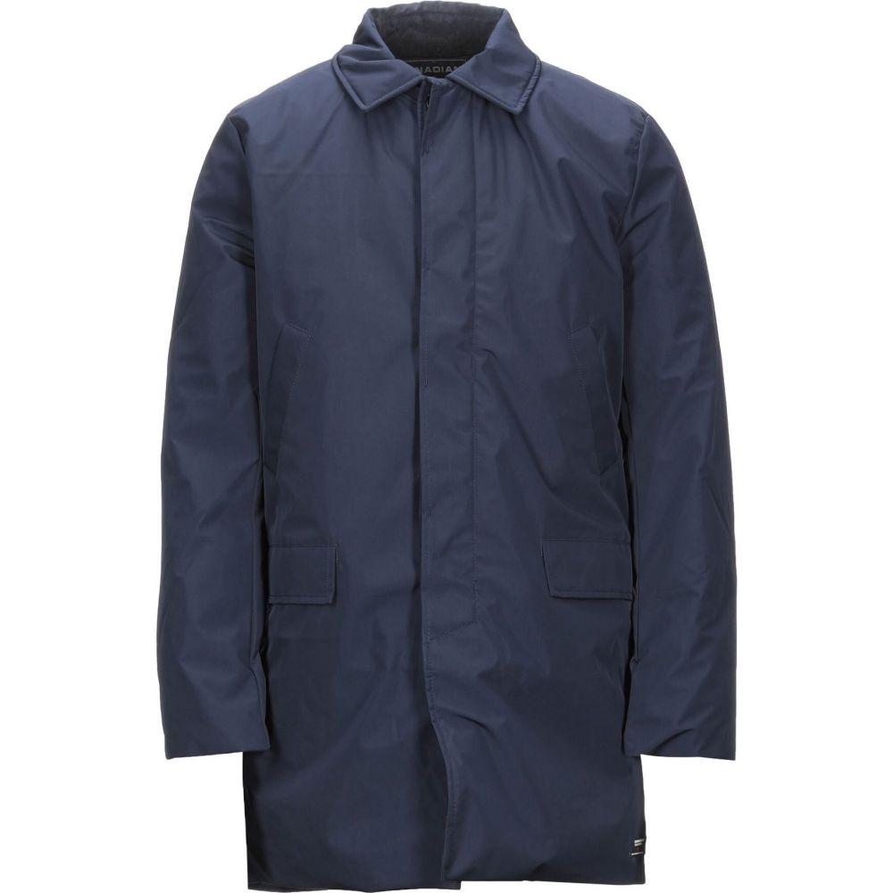 カナディアン メンズ アウター コート 超激安特価 Dark CANADIAN 購買 サイズ交換無料 coat blue