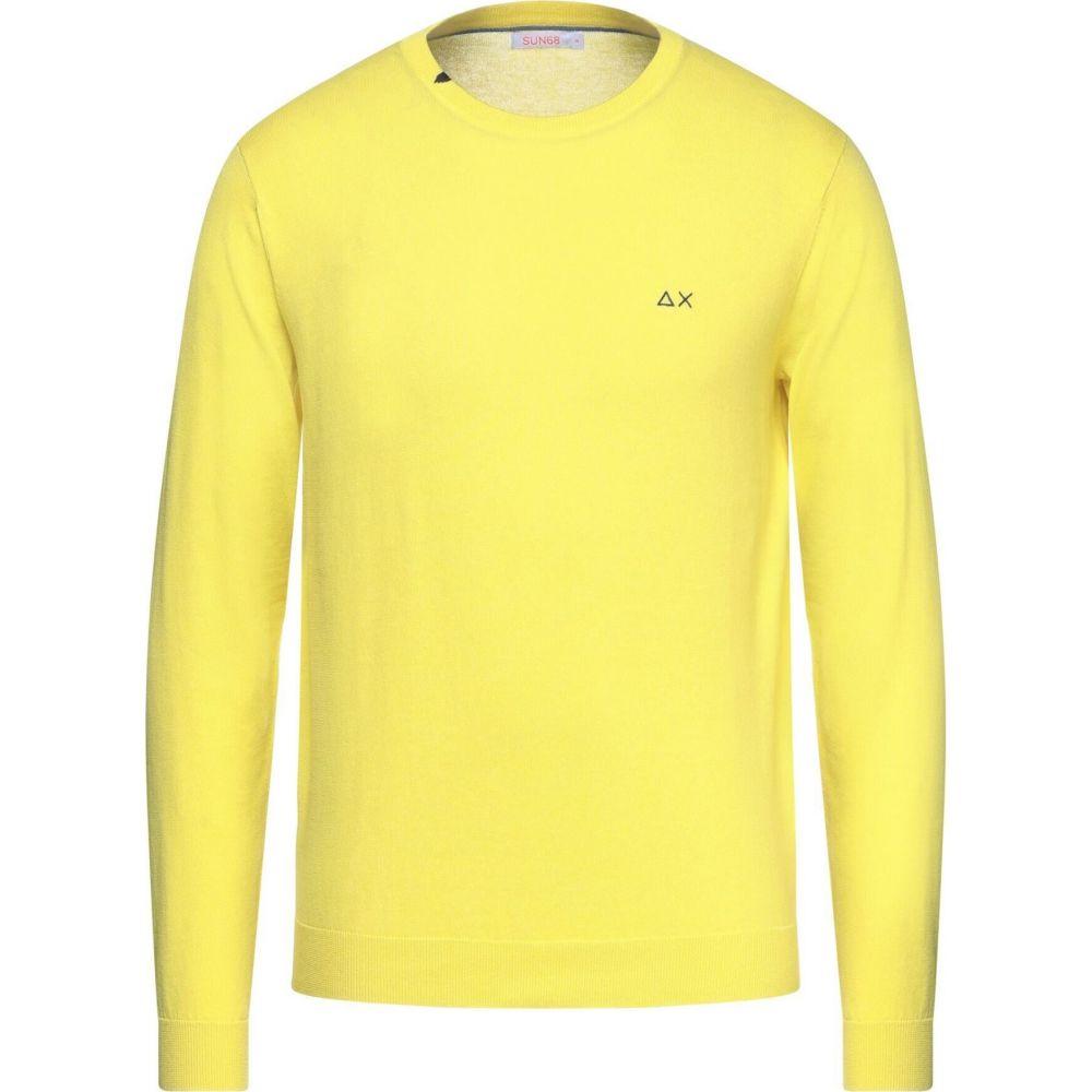 別倉庫からの配送 サン シックスティーエイト メンズ トップス ニット セーター sweater SUN チープ サイズ交換無料 68 Yellow