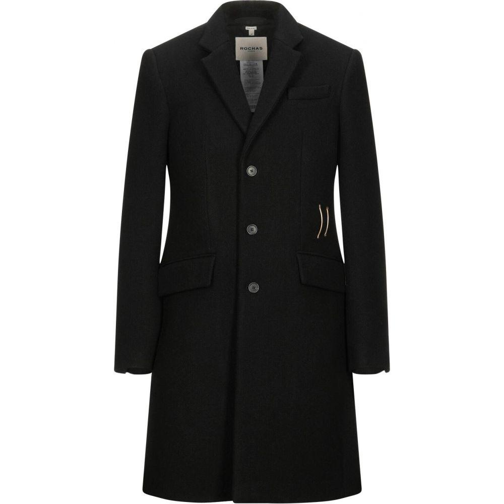 【限定セール!】 ロシャス ロシャス ROCHAS メンズ コート アウター コート メンズ【coat】Black, ニシオキタマグン:61a2fb3a --- tedlance.com