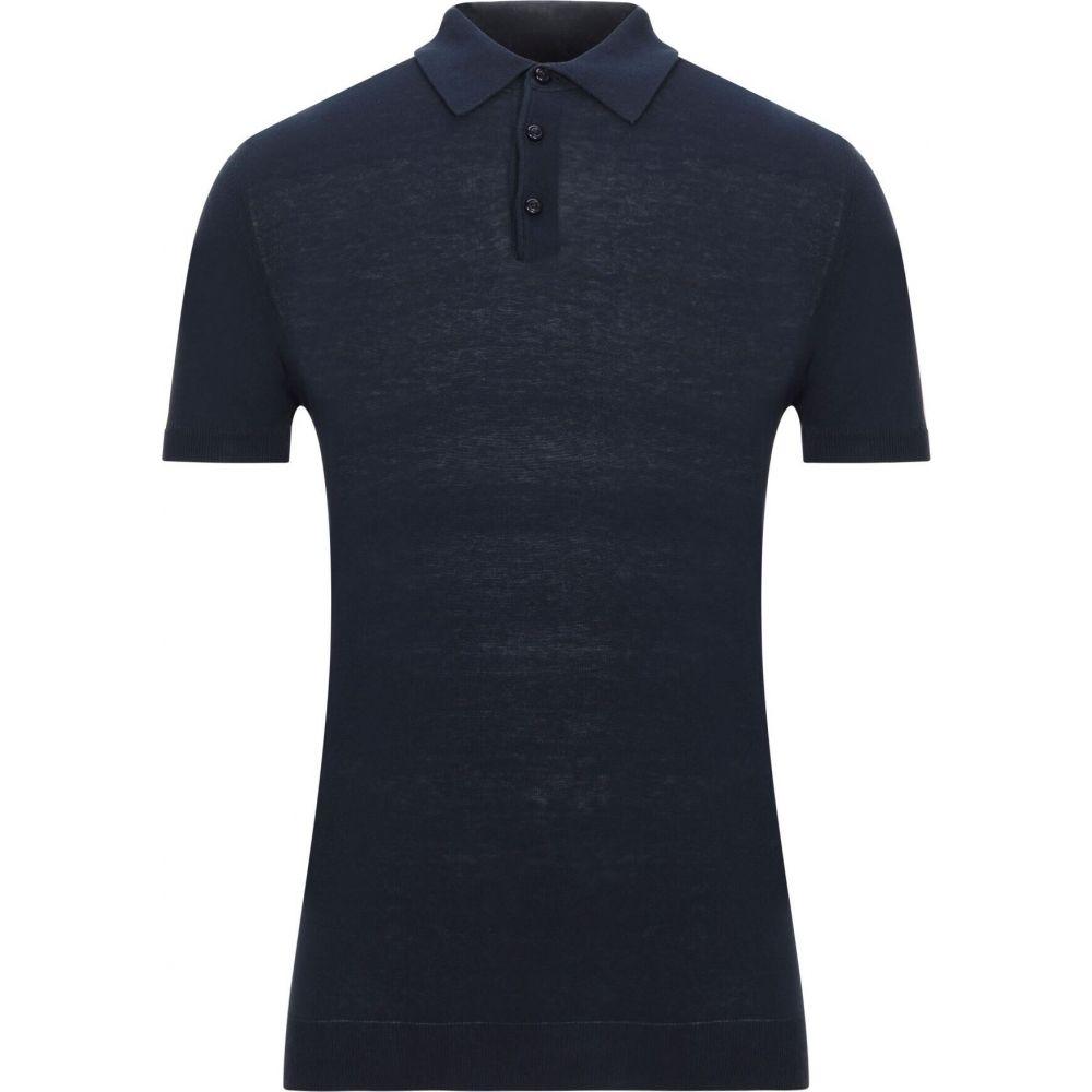 QB24 メンズ トップス ニット 倉庫 人気ブランド多数対象 セーター blue サイズ交換無料 sweater Dark