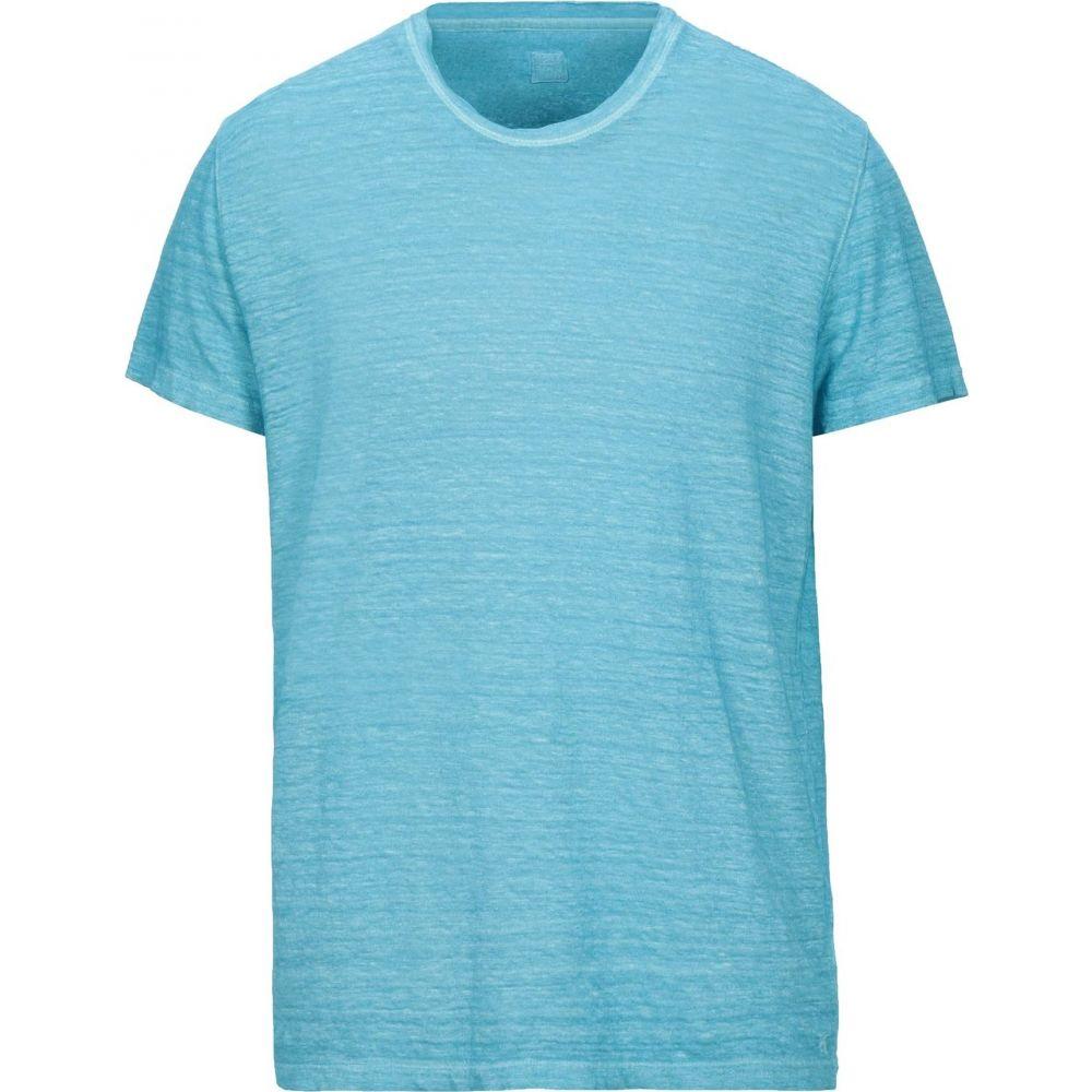 120パーセント メンズ トップス Tシャツ 1.2 国際ブランド 当店限定販売 Turquoise t-shirt サイズ交換無料
