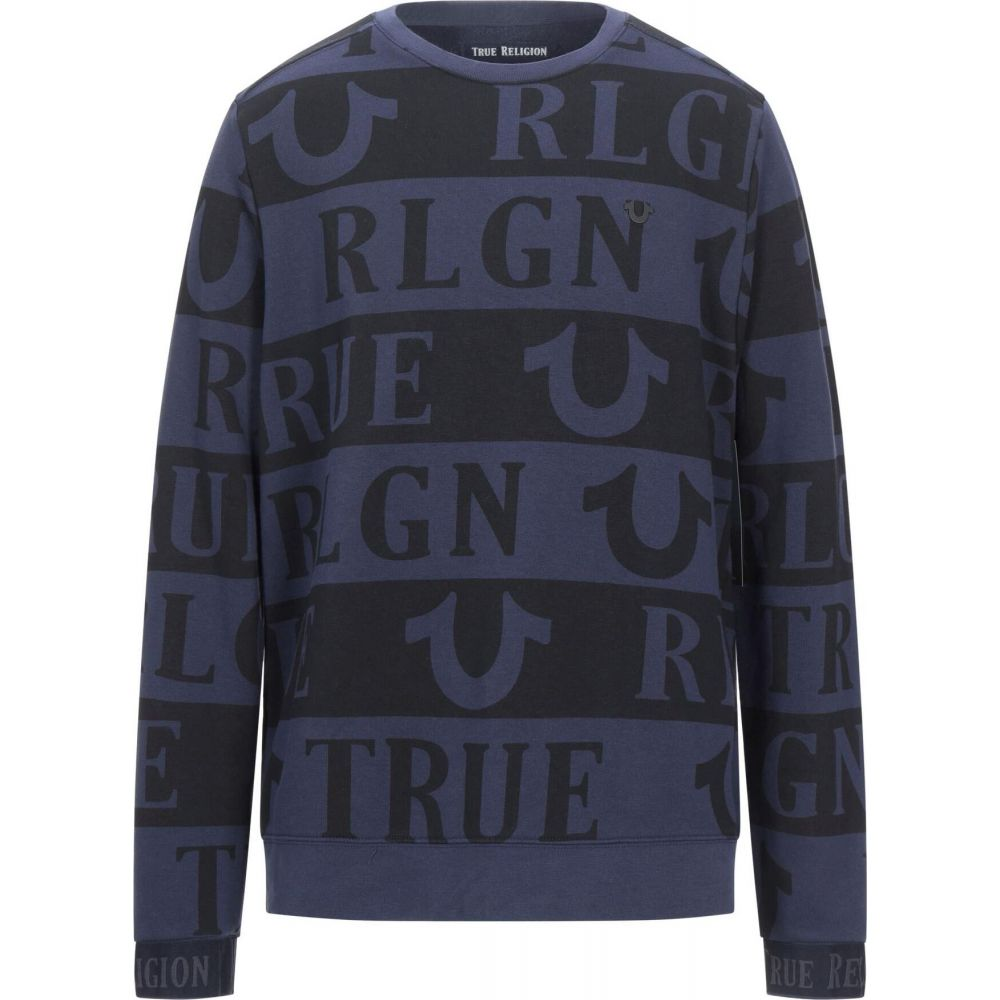 トゥルー レリジョン メンズ トップス スウェット トレーナー お気にいる RELIGION TRUE サイズ交換無料 Dark sweatshirt NEW売り切れる前に☆ blue